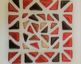 Mosaic plate square