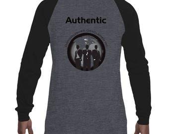 Authentic Baseball Jersey Tee