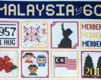 National Day eChart: Malaysia is 60