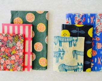 Beeswax Wrap | 1 each of S,M,L | Value Pack | Starter Set | Reuseable Food Wrap  | Beeswaxwrap