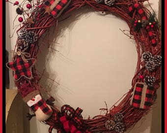 Harvest and Christmas Wreaths