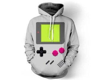Gaming Hoodie, Gaming Clothes, Retro Gaming, Gaming Clothing, Gaming Decor, Retro Gaming Art, Gaming Gifts, Hoodie, 3d Hoodie - Style 1