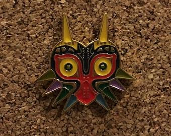 Legend of Zelda Majora's Mask Skull Kid Enamel Pin