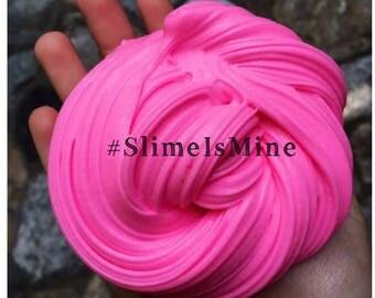Hot Pink Fluffy Slime