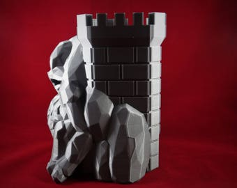 Dice Tower, Dungeons And Dragons, DND, Dice Roller,  Geeky Gift Box Idea, DND Dice Box, Cthulhu, D20, MTG, 40K, Dice Tray, Pathfinder