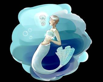 U Wish Jellyfish Jellyfish Merma...