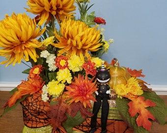 Decorative Hay Bale - Halloween