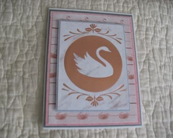 Thinking of You Swan Card