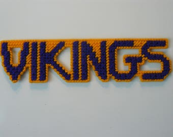 Vikings in Handmade, Needlepoint Magnets