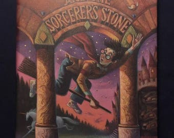 Harry Potter And The Sorcerers Stone Hardcover Book 1998 1st American Release !