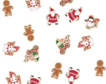 Santa and Friends Table Confetti-Christmas table scatter-Christmas dining