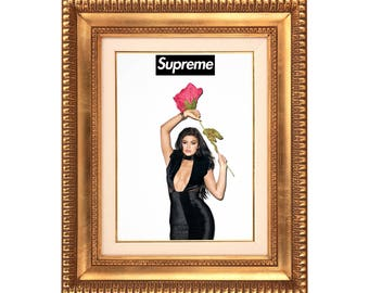 Supreme x Kylie Jenner 'Supreme Love' Poster or Art Print