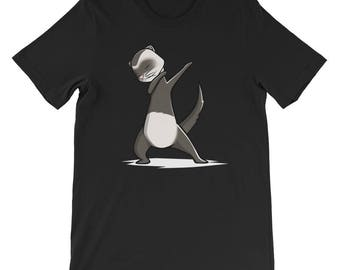 Cute Dabbing Ferret T-Shirt Funny Pet Gift