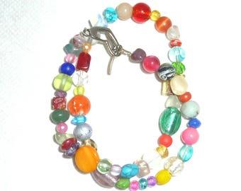 Winding bracelet-Kunterbunt-