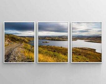 landscape set 3 wall decor set of 3 nature printable 3 piece wall art
