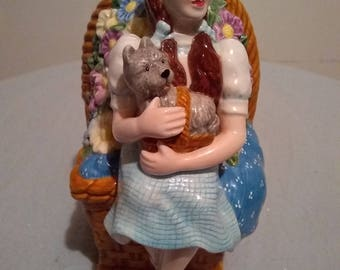 DOROTHY and TOTO FIGURINE (Piggy Bank)