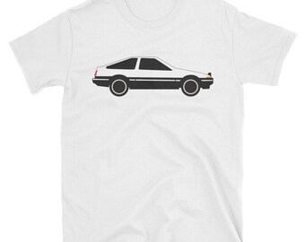 Toyota AE86 Corolla Shirt   Toyota Trueno Shirt, Toyota AE86 Shirt, Drift  Car Shirt