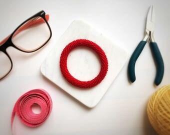 Beaded bracelet-Beads glass bead Bracelet