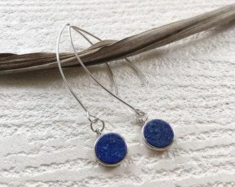 azure earrings //
