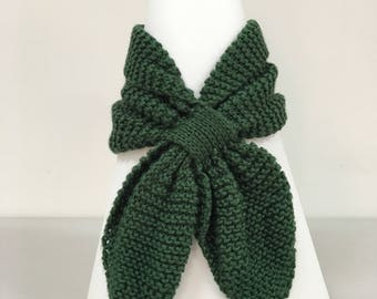 Adult Unisex Bow Tie Scarf