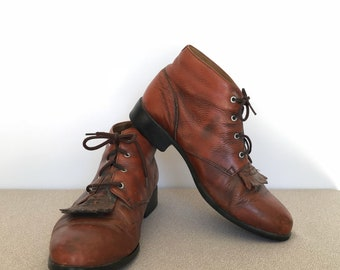 Brown Leather Ariat Boots EUR size 40.5 UK 7