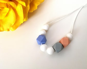 Silicone teething necklace-Lidia