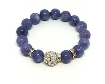 Chalcedony bracelet.