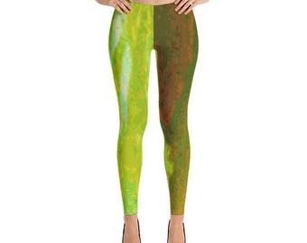Garden Green Leggings