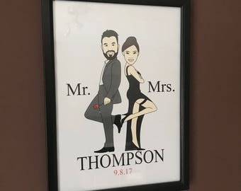 Mr & Mrs Frame (Personalised)