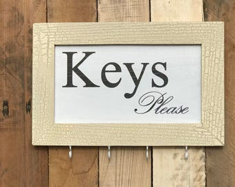 Keys Please Key and Leash Holder