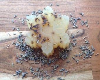 Handmade,Crystal soap,organic vegetable,French lavender,