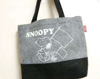 Peanuts (Snoopy) Tote Bag