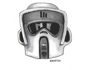 Scout Storm Trooper - Print