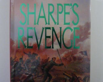 Sharpe's Revenge by Bernard Cornwell Signed First Edition 1989