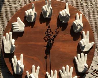ASL Clock - Local Pick Up, Easley, SC