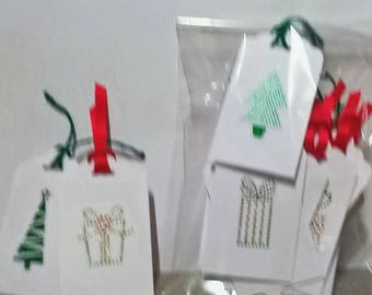 Christmas Gift tags - pack of 20