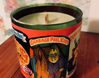 Vintage Garbage Pail Kids  Hand-Poured Soy Wax Candle