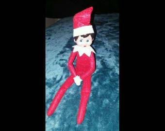 Elf on the Shelf Red Girl