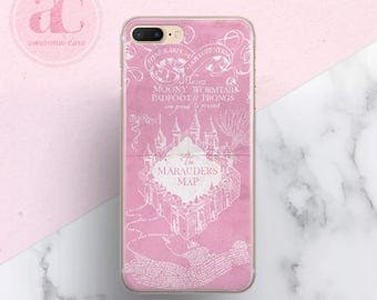 Hogwarts, iPhone 8 Case, iPhone X case, iPhone 7 Plus case, Harry Potter, iPhone 5s, Marauders, iPhone 6s case, Case for Samsung S8, S7, 59