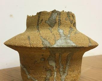 Handbuilt stoneware piece