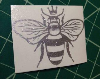 queen bee vinyl decal