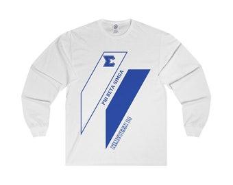Phi Beta Sigma Long Sleeve T Shirt // Phi Beta Sigma // 1914 // Phi Beta Sigma Gift // Phi Beta Sigma Clothing // Sigmas //  Edition 1
