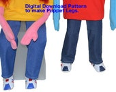 07. Puppet Legs Pattern By Church Puppets