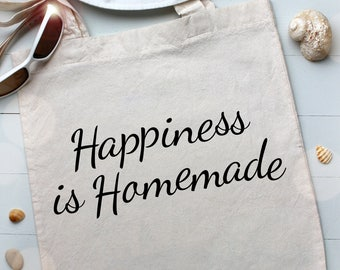 Happiness Is Homemade SVG Instant Download | Ideal for Cricut & Silhouette Machines | Trendy SVG File