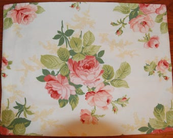 Vintage Rose Pillow Cover