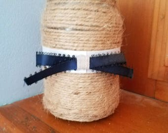 Twine & Ribbon Mason Jar