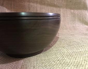 Hand turned American Walnut bowl