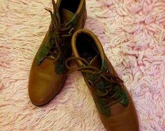 Vintage 80s Danexx Pixi Boots