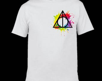 Harry Potter Deathly Hallows Adult T-Shirt