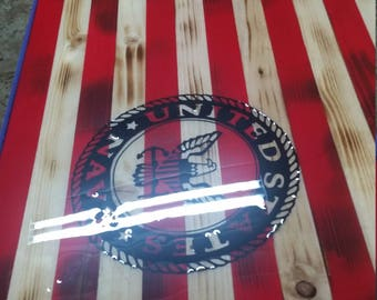 Hand made pride  American Flag